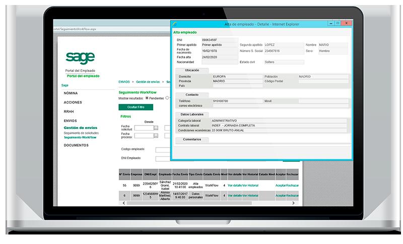 Control Group - Sage 200 cloud Laboral