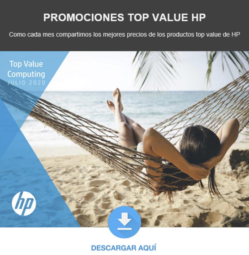 Control Group - Promociones Top Value HP