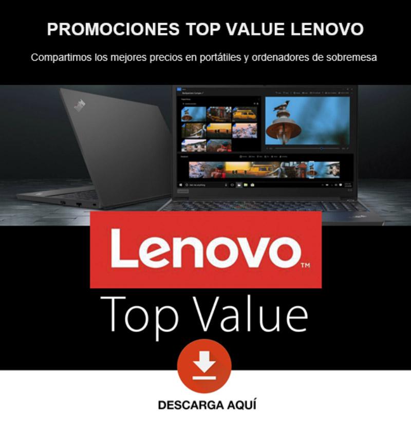 Control Group - Promociones Top Value Lenovo