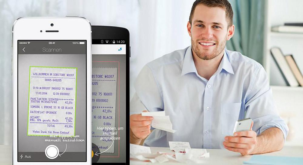 Control Group - Soluciones - Digitalitzación de los tickets de gastos